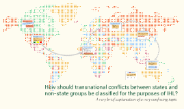 How should transnational conflicts between states and non-st