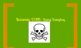 KABANATA XXIII : Isang Bangkay