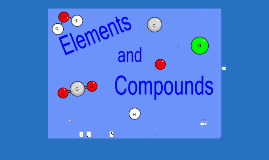 8th grade Elements and Compounds