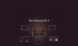 The Holocaust Pt. II