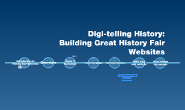 (OLD STUDENT VERSION) Digi-telling History: Building Great History Fair Websites