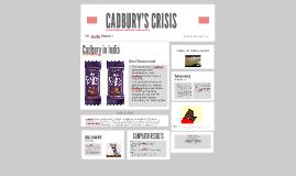 Copy of CADBURY CRISIS