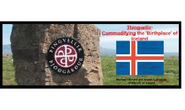 Thingvellir: Commodifying the 'Birthplace' of Iceland