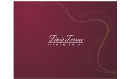 Copy of FINIS TERRAE INGENIERÍA BROCHURE