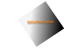 interferencia optica