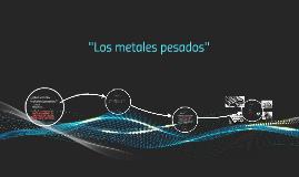 ¿Qué son los metales pesados?