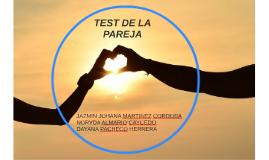 test de la pareja