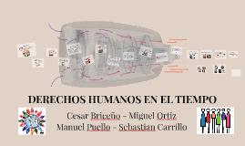 DERECHOS HUMANOS EN EL TIEMPO