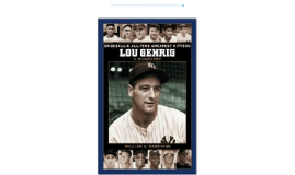 Copy of Lou Gehrig Timeline