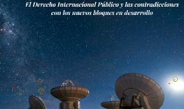 El Derecho internacional Público y las contradicciones con l