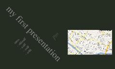 first presentation
