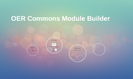 OER Commons Module Builder