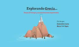 Explorando Grecia...