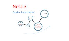 Copy of Canales De Distribucion NESTLE