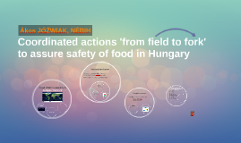 Coordinated actions 'from field to fork' to assure safety of food in Hungary