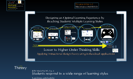 Designing the Optimal Learning Experience