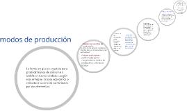 Copy of modos de producción