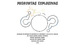 Preguntas Explosivas