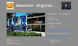 Amanecer digital