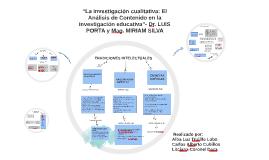 """Copy of """"La investigación cualitativa: El Análisis de Contenido en l"""