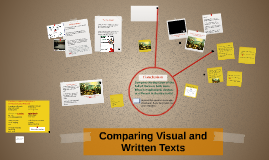 Comparing Visual and Written Texts