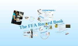 Copy of FFA Record Books