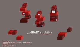 """IMRAD"" struktūra"