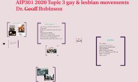 AIP301 2019 Topic 3