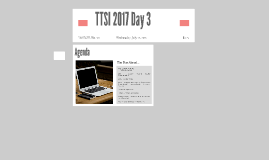 Copy of TTSI 2016 Day 2