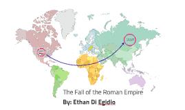 Fall of the Roman empire Politics