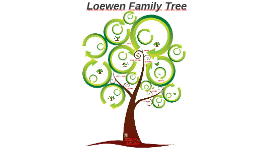 Copy of Lowen Family Tree