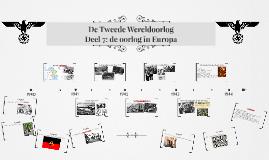 Copy of De Tweede Wereldoorlog: deel 7