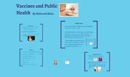 Vaccines and Public Health