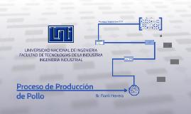 Proceso de Producción de Pollo