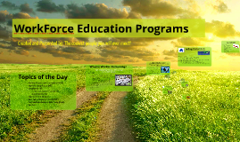 Copy of Workforce Programs