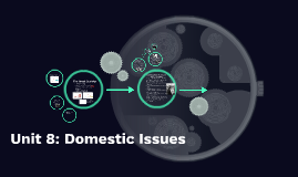 Unit 8: Domestic Issues