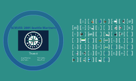 SCM355: 2001 Seattle Mariners
