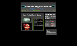 Neon: The Brightest Element