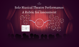 Solo Musical Theater Performance: