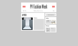 PV Fashion Week