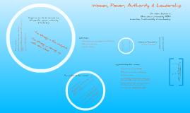 Women, Power, Authority & Leadership