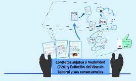 Extincion del Vinculo Laboral y sus consecuencias