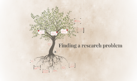 Finding a research problem