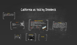 California as told by Steinbeck