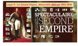 Séance 5 : Le Second Empire et la modernisation politique (1852-1870)