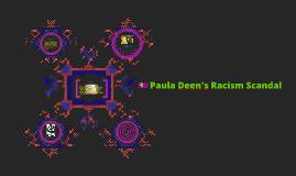 Paula Dean's Racism Scandal