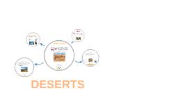 Deserts and stuff