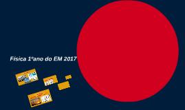 Física 1ºano do EM 2016