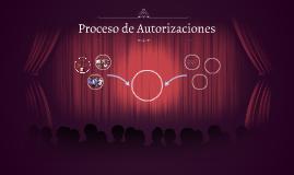 Proceso de Autorizaciones