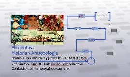 Copia de Alimentos: Historia y antropología